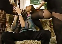 retro pantyhose videos